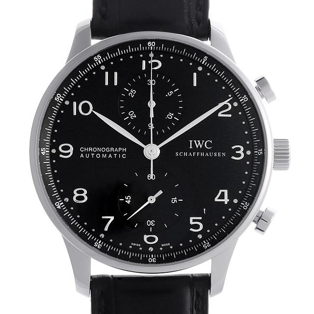 【48回払いまで無金利】IWC ポルトギーゼ クロノグラフ IW371438 メンズ(008WIWAU0068)【中古】【腕時計】【送料無料】