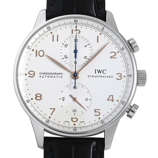 【48回払いまで無金利】IWC ポルトギーゼ クロノグラフ 金針 IW371401 メンズ(009MIWAU0037)【中古】【腕時計】【送料無料】