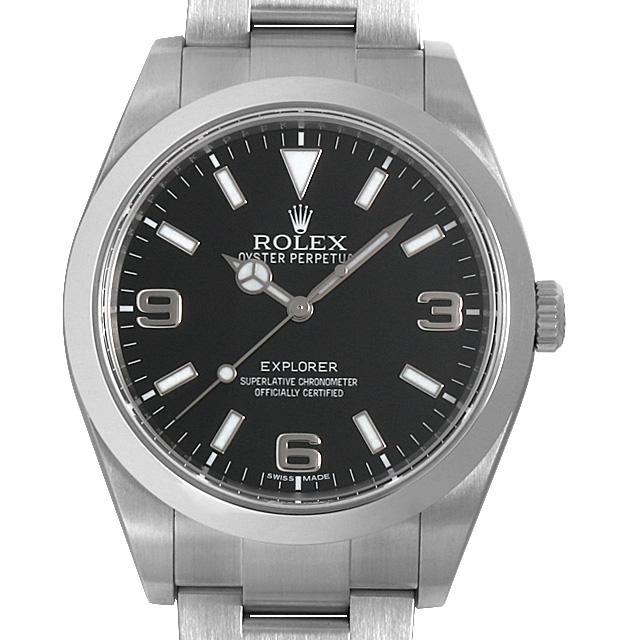 【48回払いまで無金利】SALE ロレックス エクスプローラー ランダムシリアル 214270 メンズ(009VROAU0227)【中古】【腕時計】【送料無料】