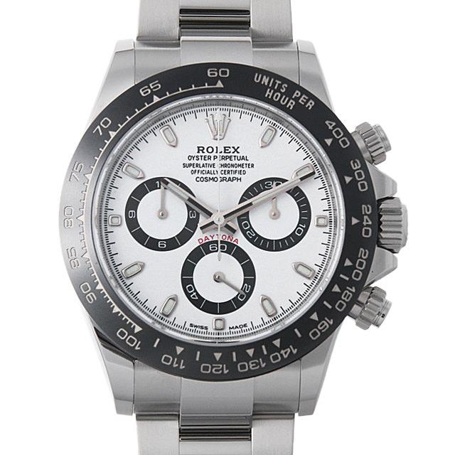 【48回払いまで無金利】ロレックス コスモグラフ デイトナ 116500LN ホワイト メンズ(05NUROAU0001)【中古】【腕時計】【送料無料】