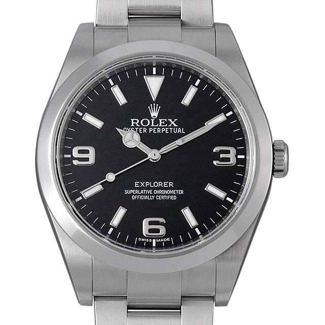 【48回払いまで無金利】SALE ロレックス エクスプローラー ランダムシリアル 214270 メンズ(0AAAROAU0001)【中古】【腕時計】【送料無料】