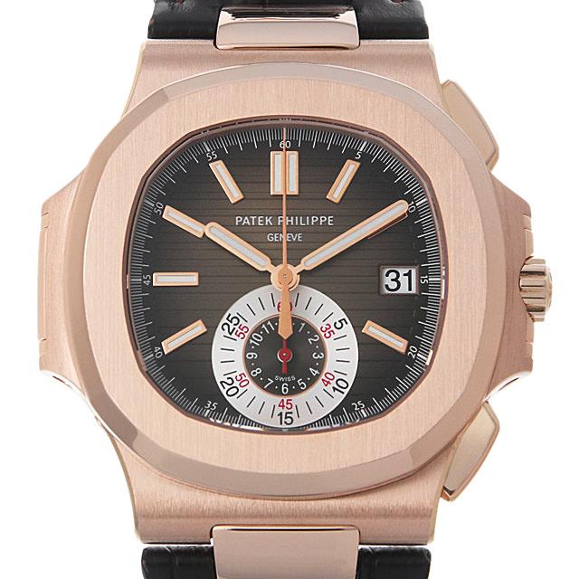 【48回払いまで無金利】パテックフィリップ ノーチラス クロノグラフ 5980R-001 メンズ(0BOHPPAU0002)【中古】【腕時計】【送料無料】