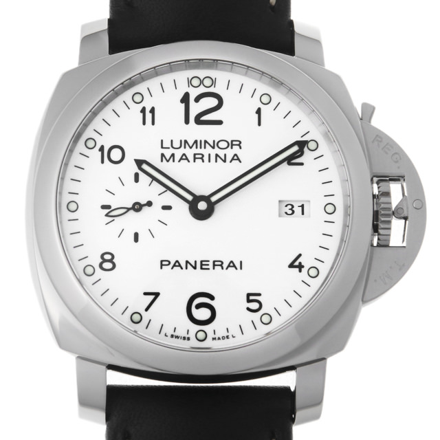 【48回払いまで無金利】パネライ ルミノール1950 3DAYS アッチャイオ Q番 PAM00499 メンズ(0DMOOPAU0002)【中古】【腕時計】【送料無料】