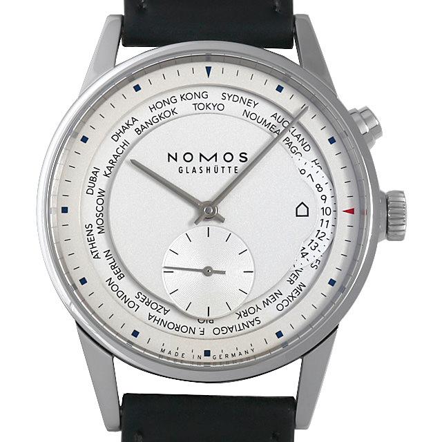 ノモス チューリッヒ ワールドタイマー ZR1X4W2(805) メンズ(0FR9NOAU0001)【中古】【腕時計】【送料無料】