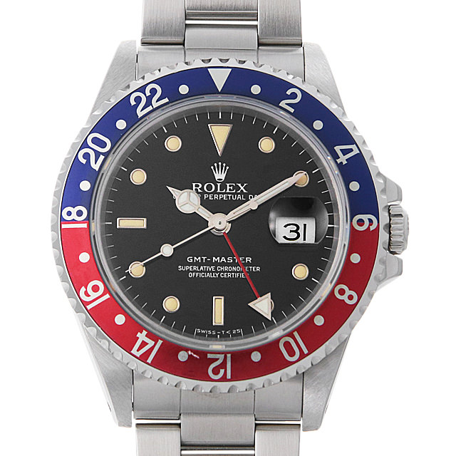 【48回払いまで無金利】ロレックス GMTマスター 赤青ベゼル N番 16700 メンズ(0HOQROAU0001)【中古】【腕時計】【送料無料】