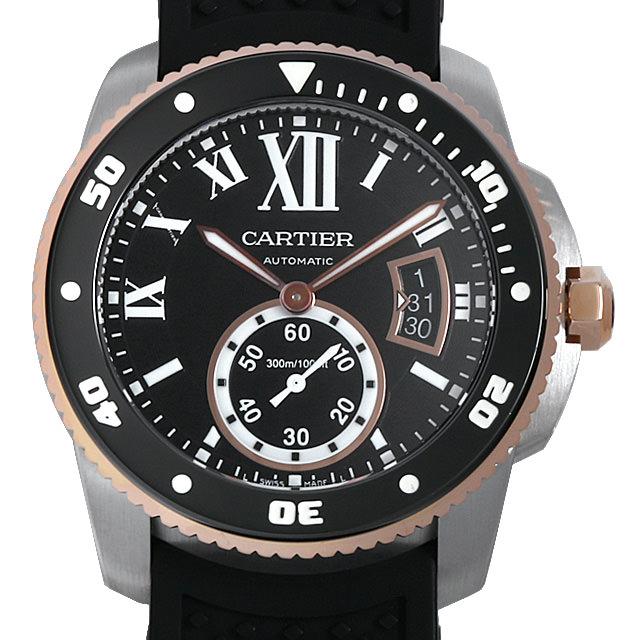 【48回払いまで無金利】カルティエ カリブル ドゥ カルティエ ダイバー W7100055 メンズ(0HYDCAAU0001)【中古】【腕時計】【送料無料】