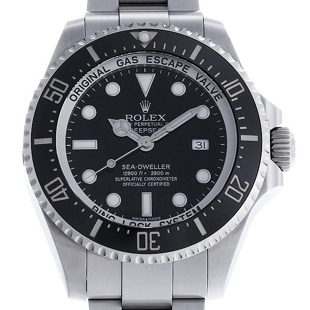 【48回払いまで無金利】ロレックス ディープシー ランダムシリアル 116660 ブラック メンズ(0IAEROAU0001)【中古】【腕時計】【送料無料】