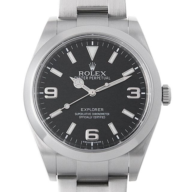 【48回払いまで無金利】SALE ロレックス エクスプローラー ランダムシリアル 214270 メンズ(0IFFROAU0001)【中古】【腕時計】【送料無料】