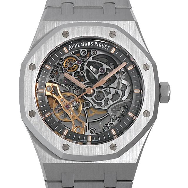 【48回払いまで無金利】オーデマピゲ ロイヤルオーク ダブルバランスホイール オープンワーク 15407ST.OO.1220ST.01 メンズ(0C0JAPAN0001)【新品】【腕時計】【送料無料】