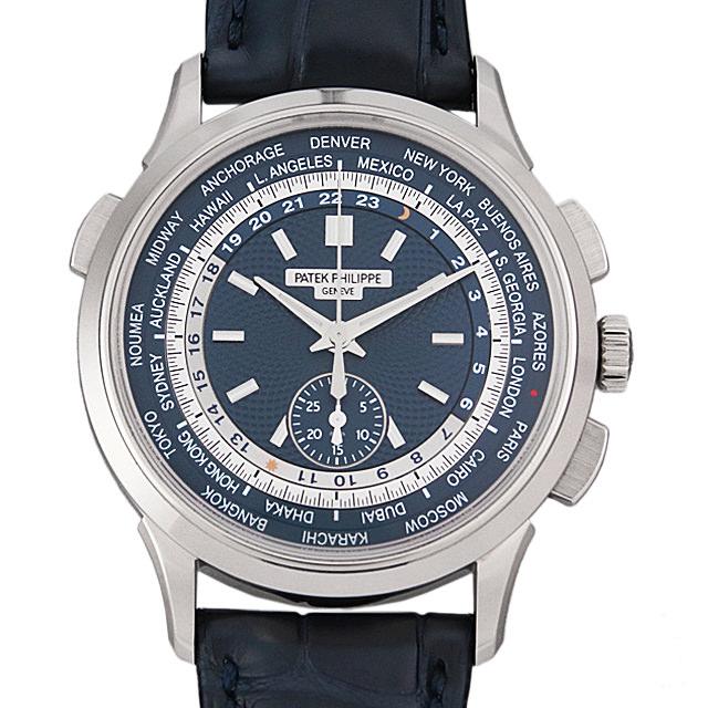【48回払いまで無金利】パテックフィリップ ワールドタイム クロノグラフ Cal.28-520HU 5930G-001 メンズ(0HOUPPAN0002)【新品】【腕時計】【送料無料】