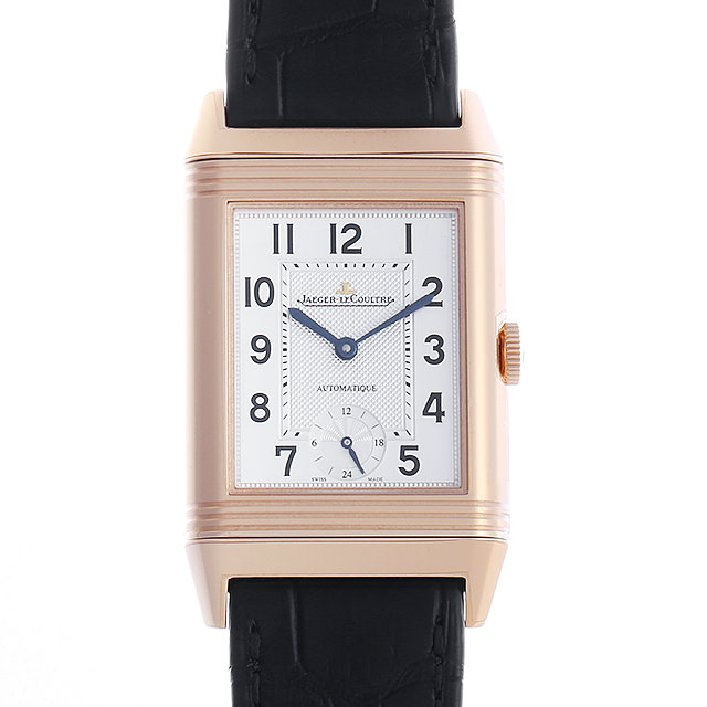 【48回払いまで無金利】ジャガールクルト グランドレベルソ オートマチック ナイトアンドデイ Q3802520(278.2.56) メンズ(0IKQJLAS0001)【中古】【未使用】【腕時計】【送料無料】