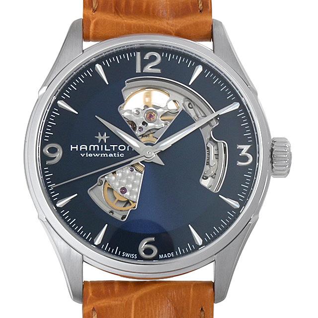 【48回払いまで無金利】ハミルトン ジャズマスター オープンハート H32705541 メンズ(006THMAN0130)【新品】【腕時計】【送料無料】