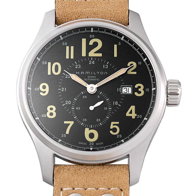 【48回払いまで無金利】ハミルトン カーキフィールド オフィサー オート H70655733 メンズ(004UHMAN0016)【新品】【腕時計】【送料無料】