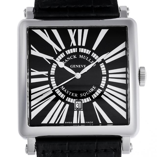 【48回払いまで無金利】フランクミュラー マスタースクエア キング 6000KSC DT AC メンズ(001HFRAU0097)【中古】【腕時計】【送料無料】