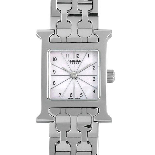 【48回払いまで無金利】エルメス Hウォッチ ミニ HH1.110 レディース(001HHEAU0014)【中古】【腕時計】【送料無料】
