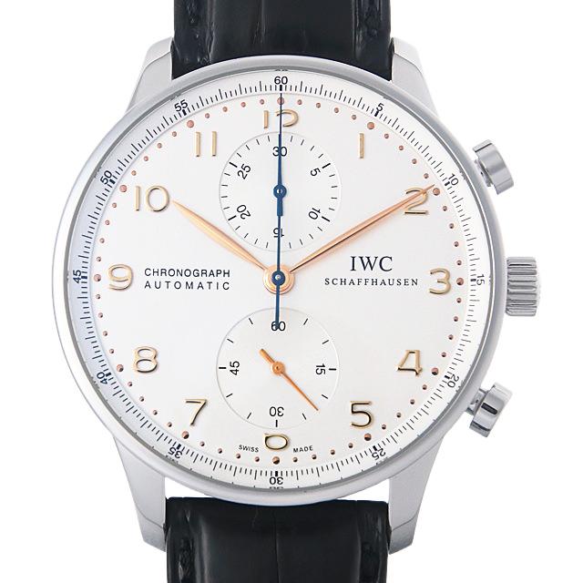 【48回払いまで無金利】IWC ポルトギーゼ クロノグラフ IW371445 メンズ(001HIWAU0073)【中古】【腕時計】【送料無料】