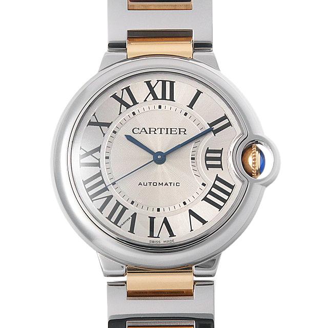 【48回払いまで無金利】カルティエ バロンブルー MM W6920047 メンズ(002XCAAU0001)【中古】【腕時計】【送料無料】