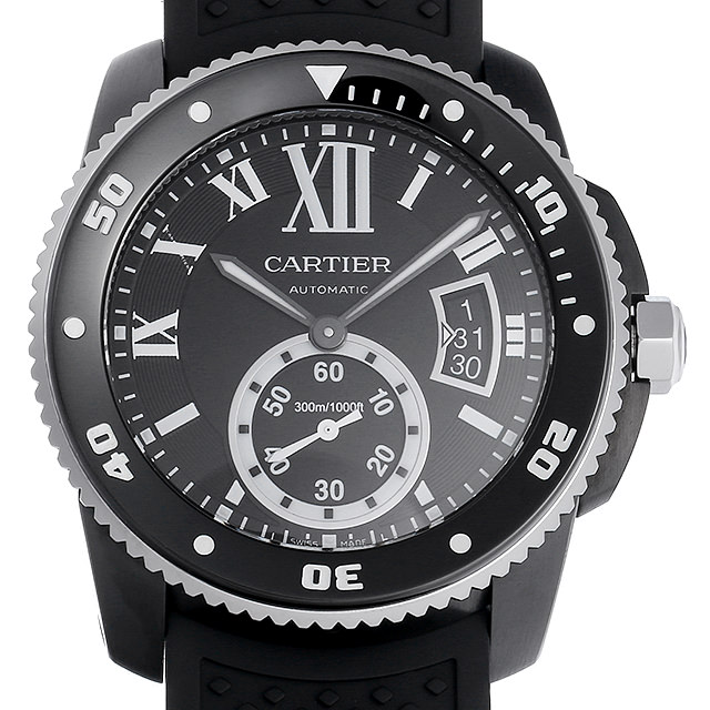 【48回払いまで無金利】カルティエ カリブル ドゥ カルティエ ダイバー WSCA0006 メンズ(0063CAAU0038)【中古】【腕時計】【送料無料】