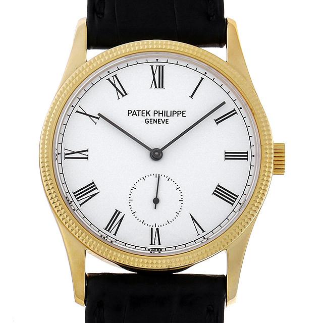 【48回払いまで無金利】パテックフィリップ カラトラバ 3796DJ メンズ(006TPPAU0005)【中古】【腕時計】【送料無料】