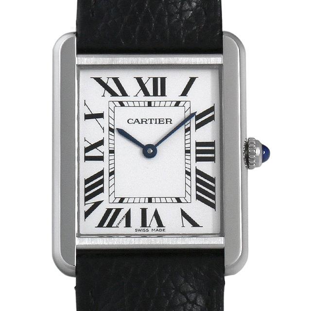 【48回払いまで無金利】カルティエ タンクソロ LM WSTA0028 メンズ(006XCAAU0162)【中古】【腕時計】【送料無料】
