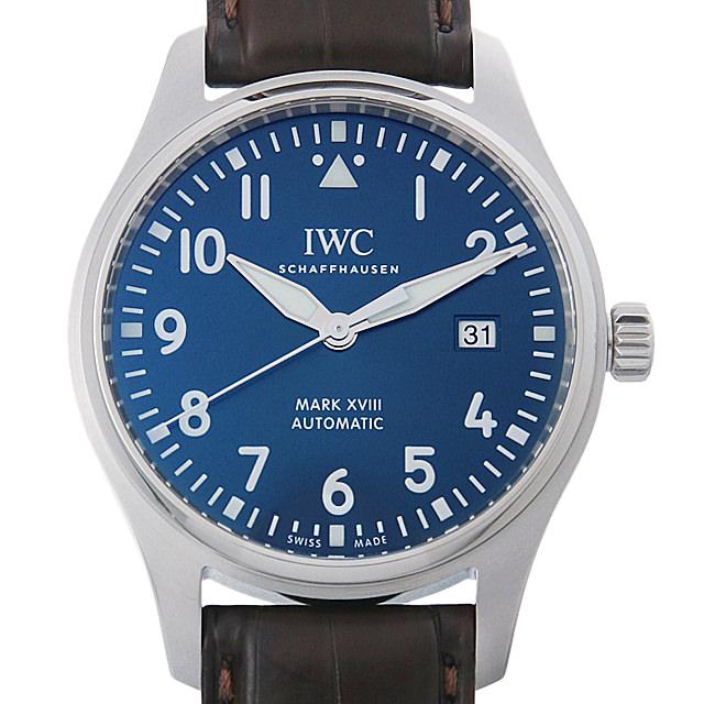 IWC パイロットウォッチ マーク18 プティ・プランス IW327004 メンズ(006XIWAU0114)【中古】【腕時計】【送料無料】