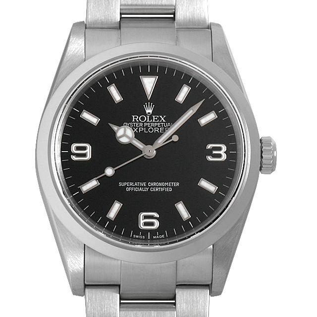 【48回払いまで無金利】ロレックス エクスプローラーI F番 114270 メンズ(006XROAU0764)【中古】【腕時計】【送料無料】