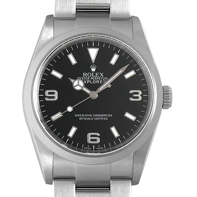 【48回払いまで無金利】ロレックス エクスプローラーI Z番 114270 メンズ(006XROAU0769)【中古】【腕時計】【送料無料】