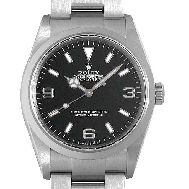 【48回払いまで無金利】ロレックス エクスプローラーI F番 114270 メンズ(006XROAU0779)【中古】【腕時計】【送料無料】