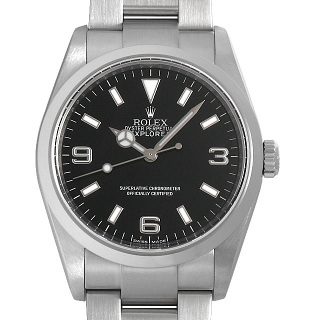 【48回払いまで無金利】ロレックス エクスプローラーI M番 114270 メンズ(006XROAU0782)【中古】【腕時計】【送料無料】