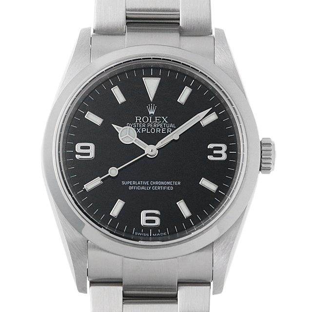 【48回払いまで無金利】ロレックス エクスプローラーI V番 114270 メンズ(006XROAU0783)【中古】【腕時計】【送料無料】
