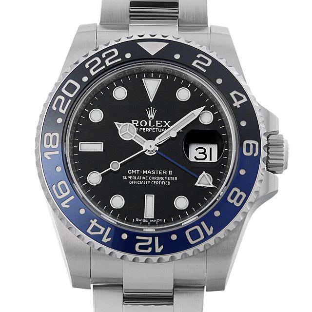 【48回払いまで無金利】SALE ロレックス GMTマスターII 116710BLNR メンズ(006XROAU0793)【中古】【腕時計】【送料無料】