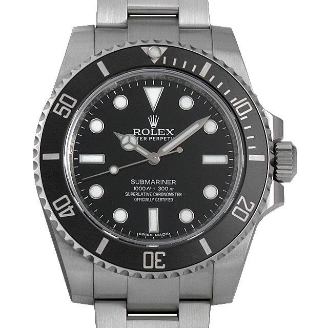 【48回払いまで無金利】ロレックス サブマリーナ ノンデイト ランダムシリアル 114060 メンズ(006XROAU0821)【中古】【腕時計】【送料無料】