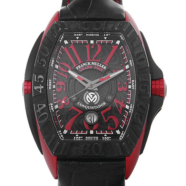 【48回払いまで無金利】フランクミュラー コンキスタドール グランプリ エルガ 日本限定モデル 8900SCJ ER メンズ(007UFRAU0139)【中古】【腕時計】【送料無料】