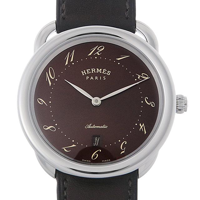 【48回払いまで無金利】エルメス アルソー AR7.710 メンズ(007UHEAU0016)【中古】【腕時計】【送料無料】