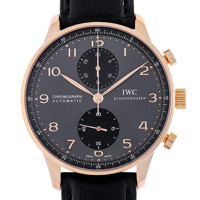 【48回払いまで無金利】IWC ポルトギーゼ クロノグラフ IW371482 メンズ(007UIWAU0116)【中古】【腕時計】【送料無料】