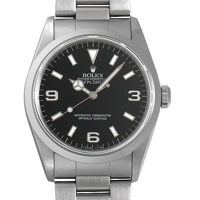 【48回払いまで無金利】ロレックス エクスプローラーI U番 14270 メンズ(007UROAU0351)【中古】【腕時計】【送料無料】
