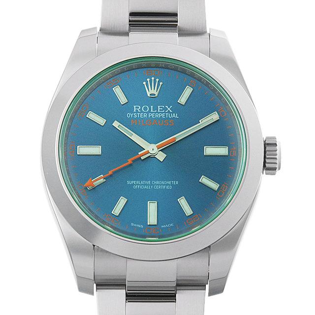 【48回払いまで無金利】ロレックス ミルガウス Zブルー 116400GV メンズ(007UROAU0375)【中古】【腕時計】【送料無料】