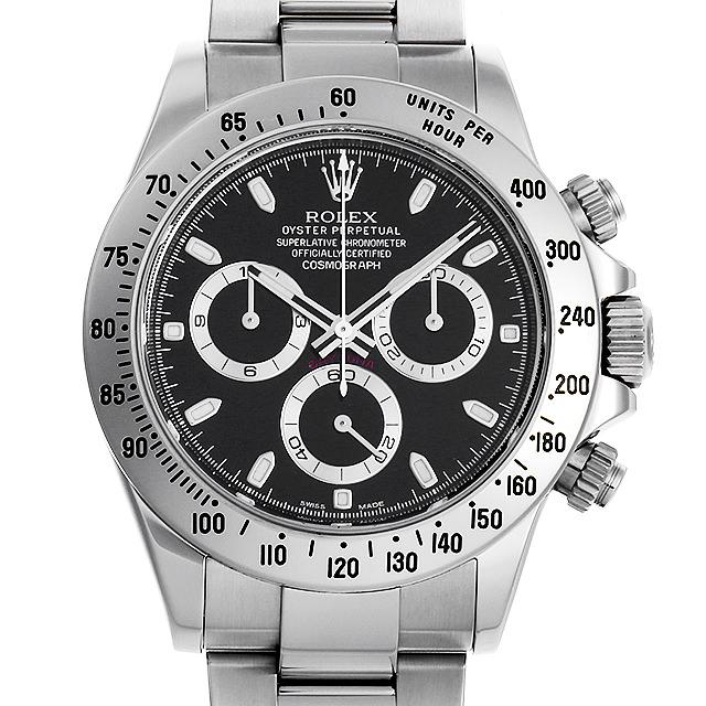 【48回払いまで無金利】ロレックス コスモグラフ デイトナ ランダムシリアル 116520 ブラック メンズ(009MROAU0162)【中古】【腕時計】【送料無料】