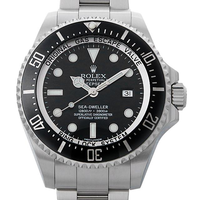 【48回払いまで無金利】ロレックス ディープシー G番 116660 ブラック/マークIIダイアル メンズ(02N4ROAU0001)【中古】【腕時計】【送料無料】
