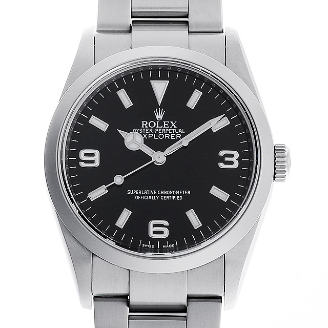 【48回払いまで無金利】ロレックス エクスプローラーI M番 114270 メンズ(0A89ROAU0087)【中古】【腕時計】【送料無料】