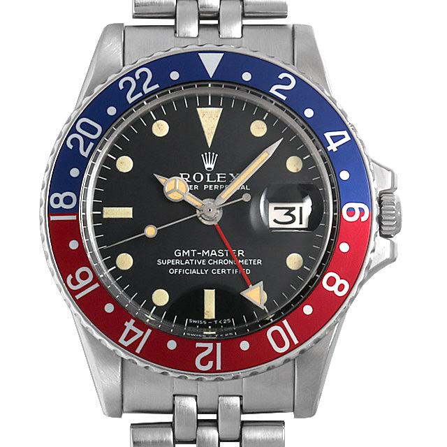 【48回払いまで無金利】ロレックス GMTマスター Cal.1570 29番 1675 ロングE メンズ(0FB6ROAA0002)【アンティーク】【腕時計】【送料無料】