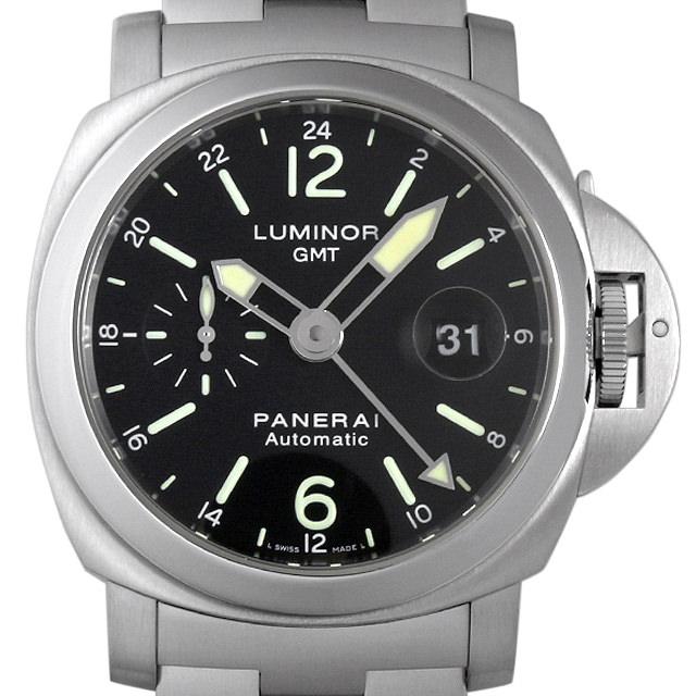 【48回払いまで無金利】パネライ ルミノールGMT K番 PAM00297 メンズ(0HCGOPAU0001)【中古】【腕時計】【送料無料】