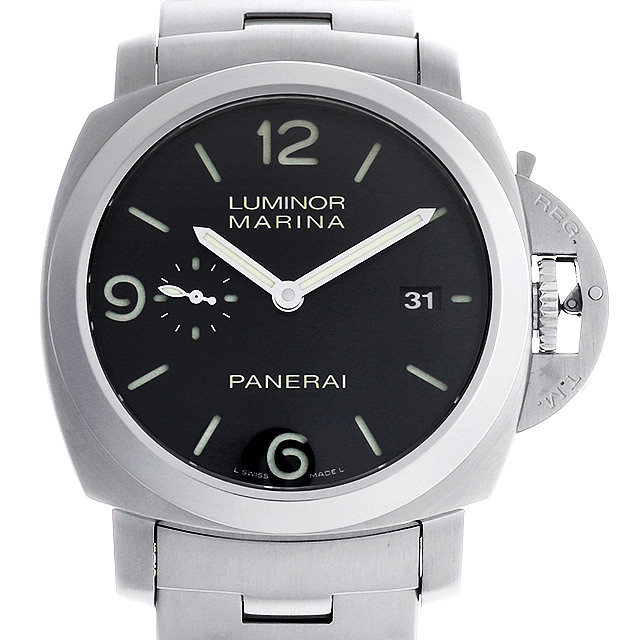【48回払いまで無金利】パネライ ルミノールマリーナ 1950 3DAYS L番 PAM00328 メンズ(0HWKOPAU0001)【中古】【腕時計】【送料無料】