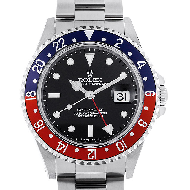 【48回払いまで無金利】ロレックス GMTマスター 赤青ベゼル T番 16700 メンズ(0HXJROAU0001)【中古】【腕時計】【送料無料】