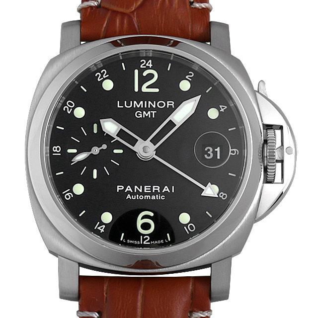【48回払いまで無金利】パネライ ルミノールGMT F番 PAM00159 メンズ(0IAIOPAU0001)【中古】【腕時計】【送料無料】