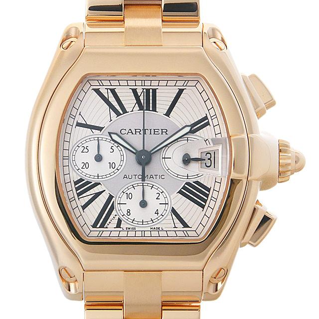 【48回払いまで無金利】カルティエ ロードスタークロノグラフ W62021Y2 メンズ(0ITRCAAU0001)【中古】【腕時計】【送料無料】