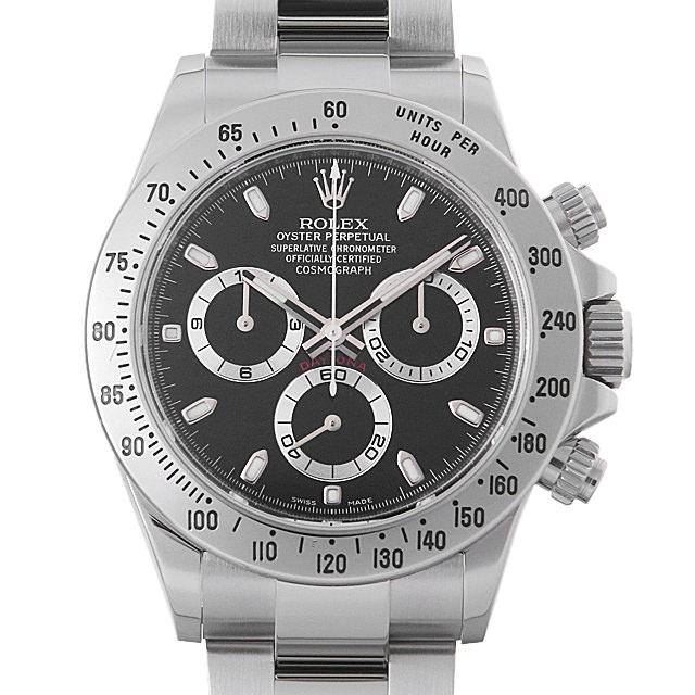 【48回払いまで無金利】ロレックス コスモグラフ デイトナ ランダムシリアル 116520 ブラック 新クラスプ メンズ(0IW4ROAU0001)【中古】【腕時計】【送料無料】