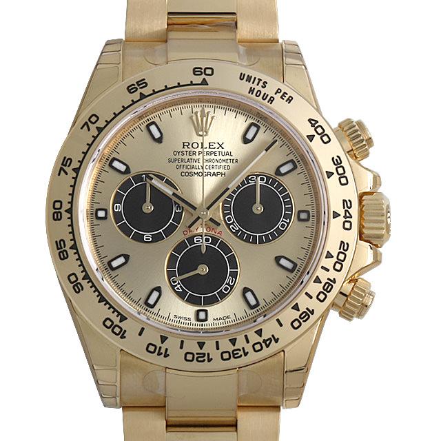 【48回払いまで無金利】ロレックス コスモグラフ デイトナ 116508 シャンパン メンズ(0FHMROAN0005)【新品】【腕時計】【送料無料】