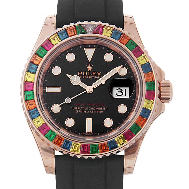 【48回払いまで無金利】ロレックス ヨットマスター 116695SATS キャンディ メンズ(006MROAR0008)【新品】【腕時計】【送料無料】
