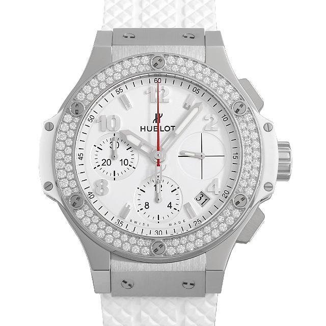 【48回払いまで無金利】ウブロ ビッグバン スチールホワイト ダイヤモンド 342.SE.230.RW.114 メンズ(0068HBAN0005)【新品】【腕時計】【送料無料】